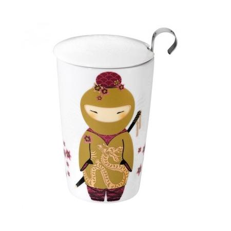 Tisanière ninja or avec filtre