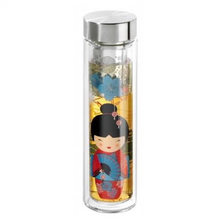 Tisanière en verre geisha