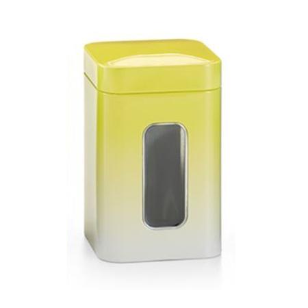 Boite jaune avec fenêtre
